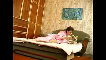 russian granny with boys Wife giant strap on husbang