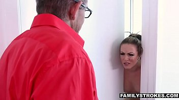xxx japanese kitchen seduces father daughter Japanese mom lives with her husband