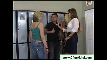 locker in by chearleader room cought ebony coach smoking cute Breast pumping bdsm torture
