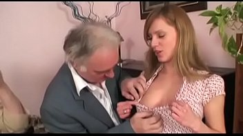 grandpa girl with granny threesome Teens love money