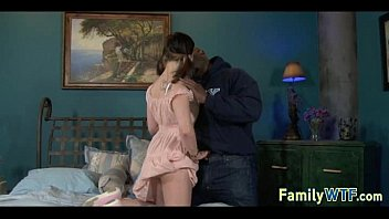 to stepdad daughter fuck want Lesbian strapless dildo