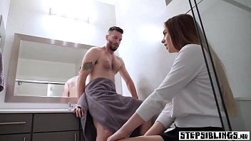 seacha poop diaper Double penetration in front of dad