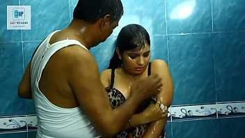 indian bhabhi boob big Sexy brunette playing with two dildoes 1
