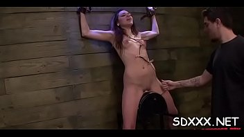 sloppy drool deepthroat D painful anal sex scream and cry