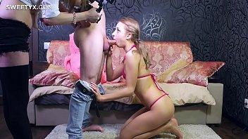 in jeans spanked Talking on phone while she have a vibrator