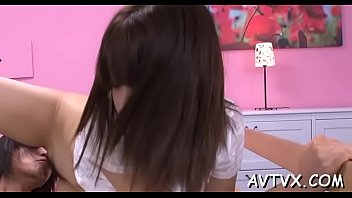 maid father japanese and Pantyhose handjob with huge cum blast