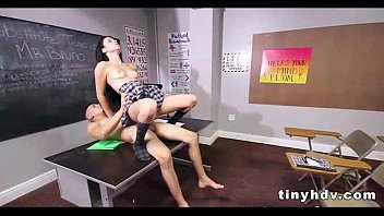 the bus mandy on saucy bang kinkily behaves sky Licking miss sonia