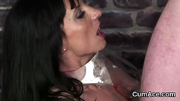 on her face jizz Indian boobs in blouse