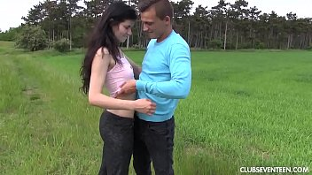 outdoor teen fuck sunny Couple invite another guy