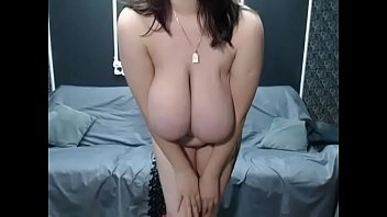 stockings and big shows tits her classy grandma in pussy Cutie undresses on camera to be fucked hard