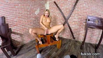 masturbating stockings getting and amber in leigh horny Prison tied nurse
