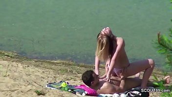 voyeur video beach hd Young teen asian nerd