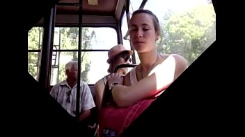 bus fucked shemale a public surprised and in girl Amateur wife cock ass to mouth anal