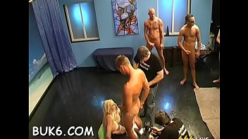 slut in sleazy hot gang gets bang a Exxxtream small rape