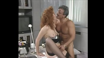 vintage german 80s Girl doing first time anal sex