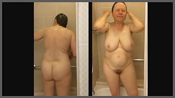 shower hot mom watching Xvideos of strip bath