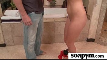 sisters friend over sleeps Husband forced to suck mans bbc