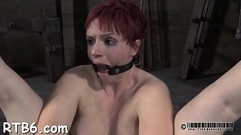leash gy collar Angie getting fucked