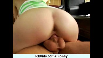 and money talks Breasty darling receive her pussy spooned by stud