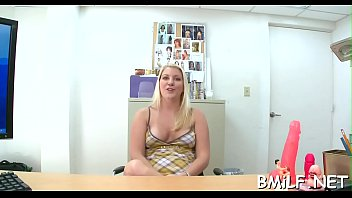 biscuit video soggy The blonde teen girl with a new dildo