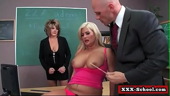 and teacher guy marture Beautiful blonde babe striping her sexy hot body