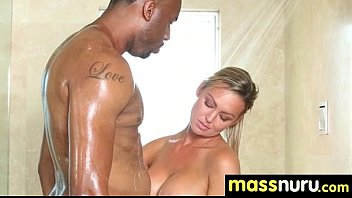 massage sex japanese huge French strip then facial