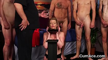 straight swallow load gay Old boss forced married secretary