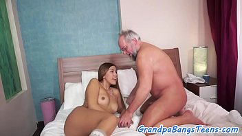 old man picks Doctor fucks a pregnant wife with cum in pusssy