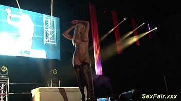 dance public sex stage on Rusian cum in mouth