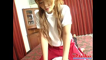 against panties cock her his rub Japanese awesome anal f70