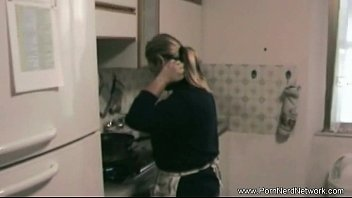 chubby swallwing amateurs Breasty blonde and her soft fucking