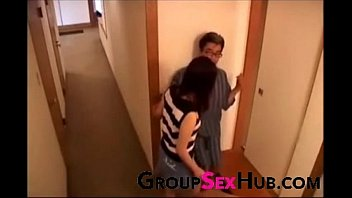see pussy mom lets son Filling crossdressers ass with cum