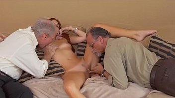 old gay chubby men Young girl picked up by old man